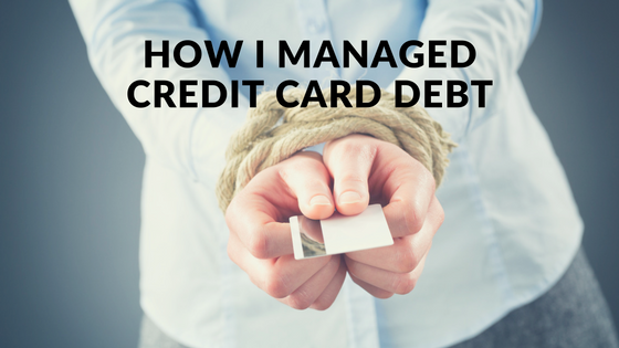 How I managed credit card debt
